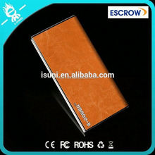 Free Logo Wholesale double output ports design your own painting news mobile power bank 8000 for gifts