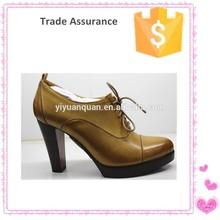 2015 la venta caliente de la buena calidad de la mujer mayor de China zapato casual