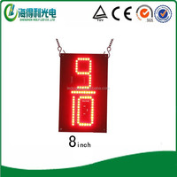 Hidly 8inch red 9/10 led gas number display (GAS8RZ9/1053)
