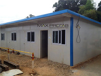 Prefabricated Light Steel Structure Dormitory/House Prefab