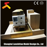 Wooden house prefabricated model with good quality