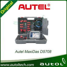 Professional Autel MaxiDAS DS708 Universal Original Autel DS708 Auto Scanner Free Update Online Multi-language Works Well for J