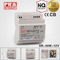 DR-30-12 30W power supplies switch mode din rail 12V ac dc