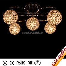 fancy home hotel lobby large ball lamp&pendant lighting/led lighting