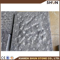 decorative lava rock stone (Volcanic Stone), Grey Basalt and Black Basalt, lava paving stone