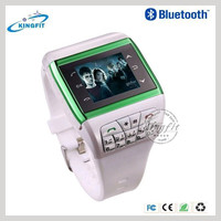 2014 Custom Sports Wristband Mobile Watch Phone For Man Q6