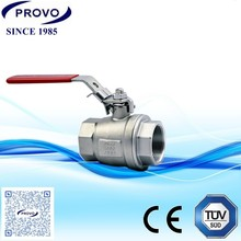 air ball valve ,1/8 ,1/4 thread ,ISO9001 and VITON Seal