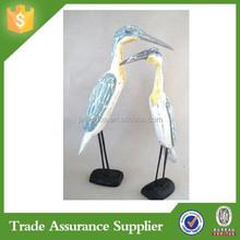 ODM/OEM Factory Resin Home & Garden Swans Ornament