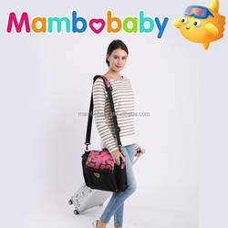 2015 new fashion design travel diaper baby bag for mummy