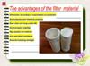 100% PET fiber polyester dust filter bag filter pocket used for industry filter