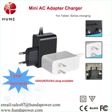 """5V 2A AC Power Adapter Wall Charger for 7"""" 8"""" 9"""" 10.1"""" Android Tablet PC MID eReader with Round 2.5mm/3.0mm/5 pin Jack"""