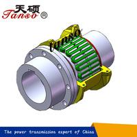 Tanso JSD single flange flexible spring coupling,grid coupling