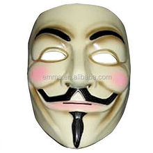 Most popular halloween anonymous mask wholesale fancy dress guy fawkes custom v for vendetta mask for sale MK4081