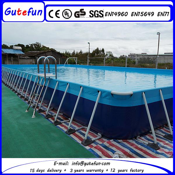 2015 ext rieur pliant above ground piscine ronde for Accessoire piscine sport