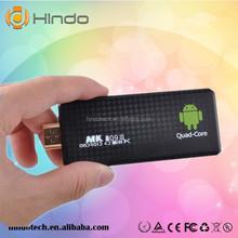 Hindo android tv stick remote/ quad core android tv stick /android streaming stick