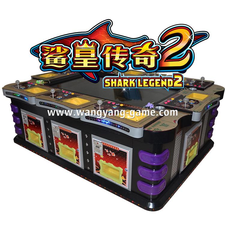 Igs shark king 2 english version fish hunter arcade game for Fish game gambling