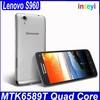 Original Lenovo S960 Mobile MTK6589 Quad Core 5 Inch 1920x1080 WCDMA 3G Android 4.2 Celular Lenovo Smartphone
