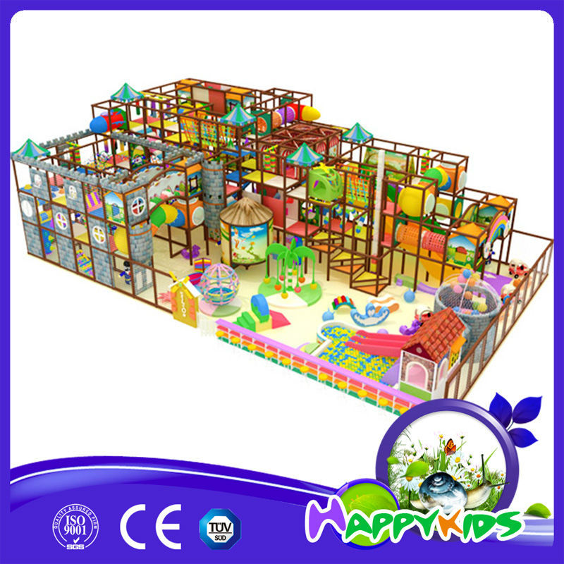 Cheap educational kindergarten indoor playground equipment for Indoor gym equipment for preschool