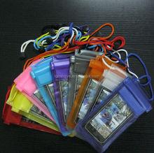 Mand in China mobile phone waterproof bag, waterproof case for iphone 6 plus, plastic waterproof cell phone case