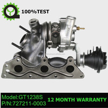 GT1238S Turbocharger turbo 727211-5001S 727211 for Smart Fortwo / Roadster