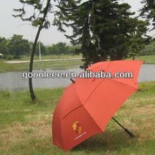 small cap double layer golf umbrella/spain gear umbrella