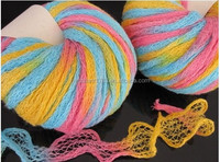 Acrylic/Nylon Net Yarn For Scarf