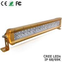 High-end 24W 36W 60W 120W 180W 240W 300W IP68 off road led light bar cree