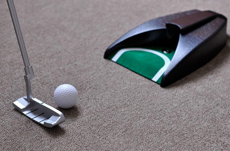 Detail 5 Home Indoor Office Outdoor Golf Training Set Ball Return System, Zinc Alloy Putter Golf Training Aids jpg.jpg