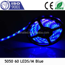 Beautiful and Easy Installation SMD5050 Waterproof IP65 blue LED Strip
