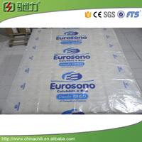 China printed pe film pe plastic film print logo