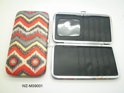 Best woman card wallet wholesale in aluminium case