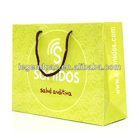 newest fashion printed reusable paper grocery bag