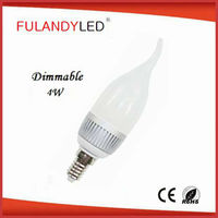 hot sale led candle light candle led light bulb b15 dimmable bright led candle light