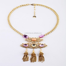 Costume Party Jewelry Gem Crystal Necklace Collar 2015