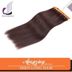 Wholesale price top quality grey human hair weaving