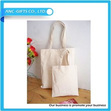 Plain White Cotton Canvas Tote Bag Blank canvas tote bag wholesale