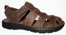 Style décontracté mens en cuir plat chaussures de marche chaussures chaussures de plage
