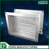high quality galvanized steel metal manual air duct damper for hvac system