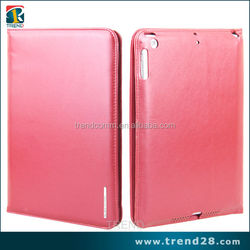 China wholesale PU flip stand leather cover case for ipad 5