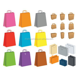 promotional printed gift paper bag good quality paper bag with handle