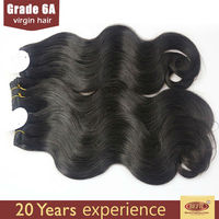 Factory price wholesale 100% unprocessed virgin hair cabelo humano barato