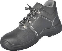Black progressive safety footwear