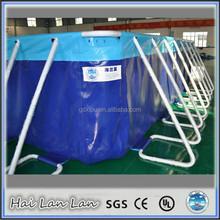 2015 hot sale high quality metal wall swimming pool 35m*20m*1.32m