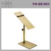 Ramie Hanger, Mannequin, Rack & Paper Products supplier: Adjustable Steel Golden Shoe Rack