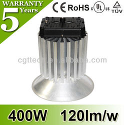 CE TUV UL SAA Approved Warm&Cool White Meanwell Driver 400w LED High Bay Light with 5 Years Warranty
