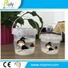 Factory price 2L plastic bucket, food grade plastic bucket on sale