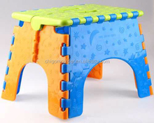Customized cheap plastic injection mould for portable folding stool made by OEM