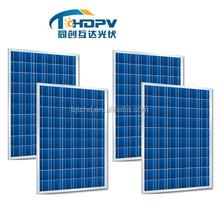 12v 5W to 250W polysilicon solar panel price