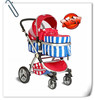 Kangwawa Top end light and durable baby stroller with suspension function