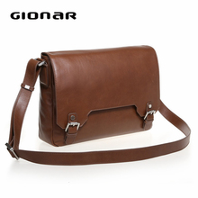 2015 new men messager bags leather shoulder bag leisure bags